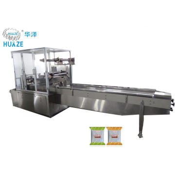 High speed automatic biscuit pillow packing machine